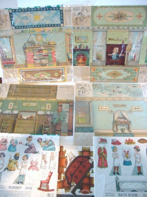 7: Paper Dollhouse Furniture