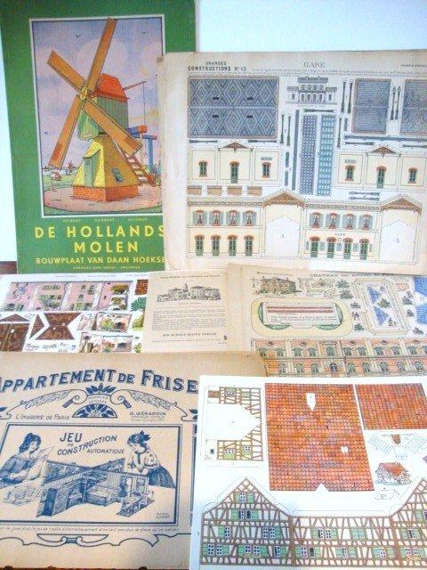 8: Paper Dollhouse Furniture