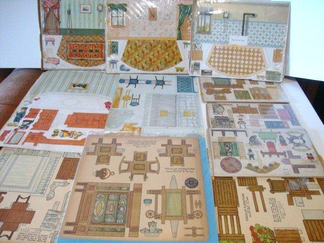 9: Paper Dollhouse Furniture