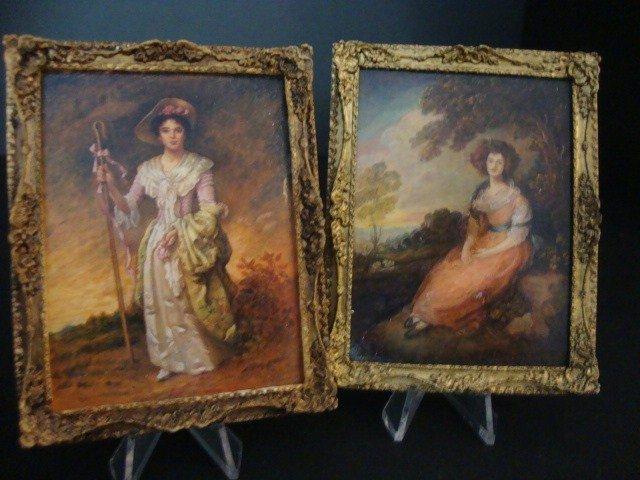 11: Pair of Paul Saltarelli Paintings