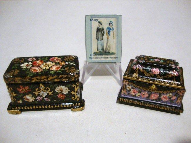 17: Two Renee Isabelle Jewelry Caskets