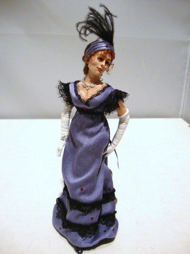 22: Marcia Backstrom Lady with Plume (Miss Bingley)