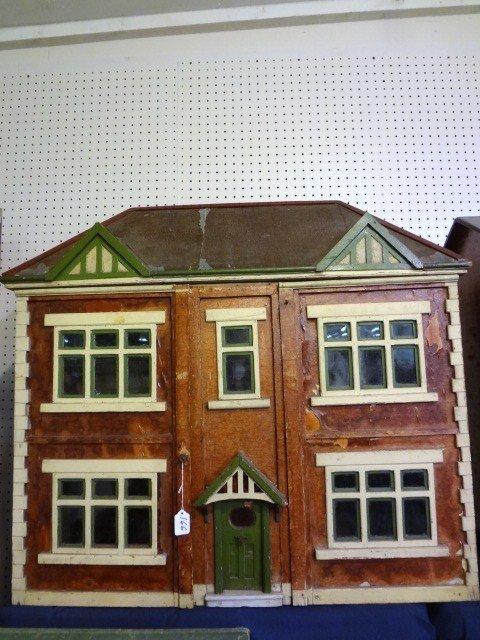 166: Vintage English Stockbroker Tudor Dollhouse