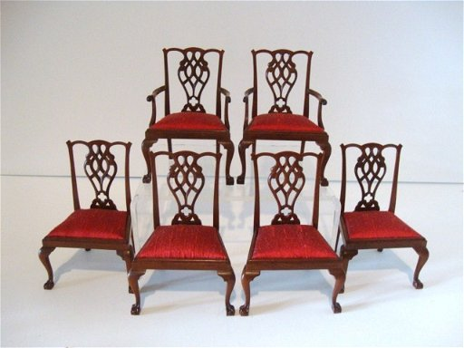 216 Six Tom Warner Chippendale Chairs May 14 2011 Ron Rhoads