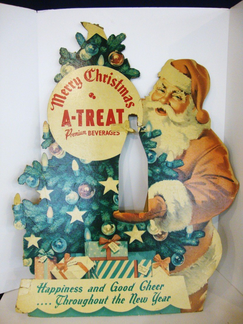 10: A-Treat Christmas Advertising Sign