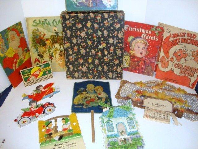 17: Christmas Books, Cards