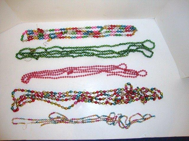 21: Vintage Christmas Tree Beads