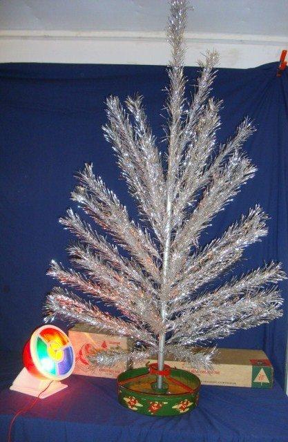 23: Sliver Christmas Tree