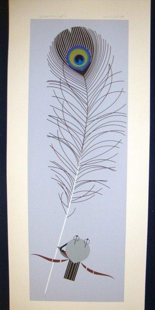 335: Charles Harper Fine Feather Serigraph