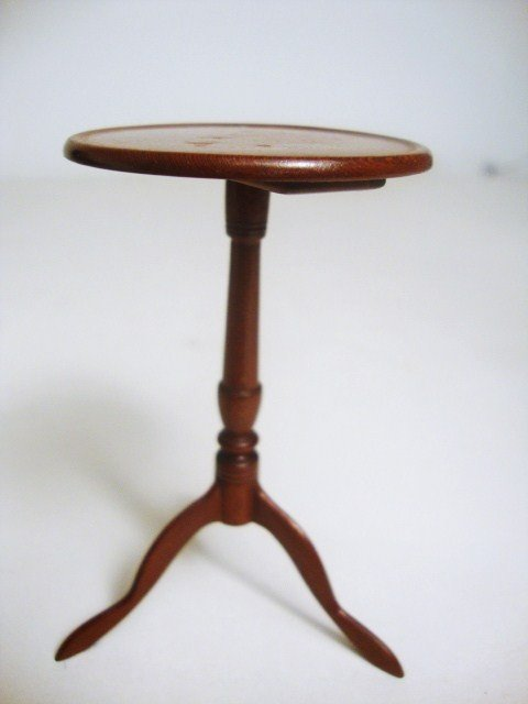 181: Mahogany Candle stand