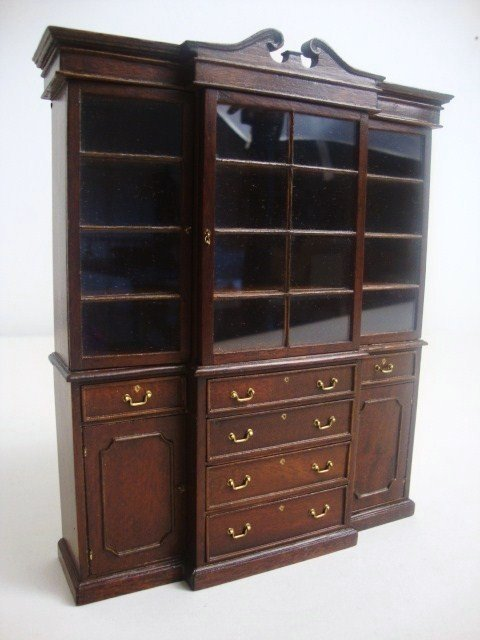 186: Eric Pearson Breakfront Cabinet
