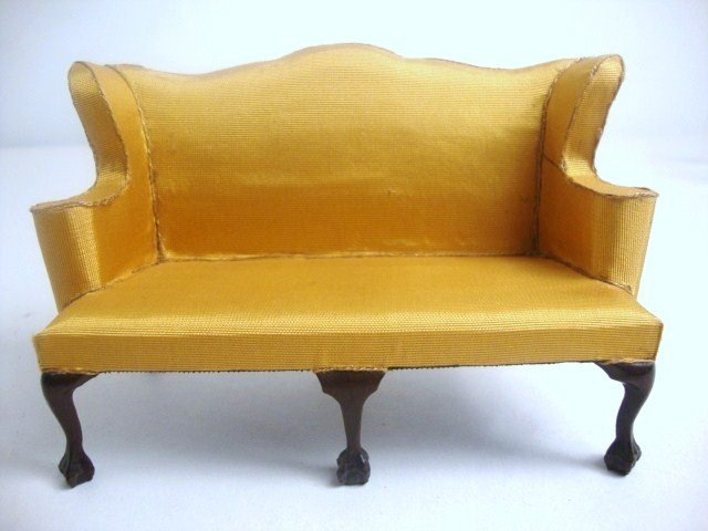 191: Eric Pearson Chippendale Loveseat