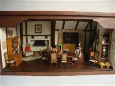 546: English Dining Room Roombox