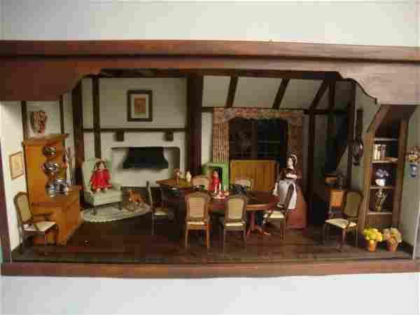 English Dining Room Roombox