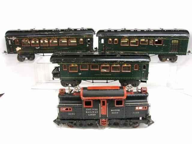 128: Ives Wide Gauge Passenger Set