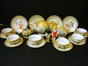 21: Child's Orphan Annie Tea Set