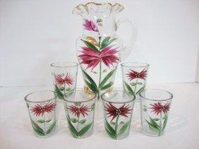 Floral Beverage Set