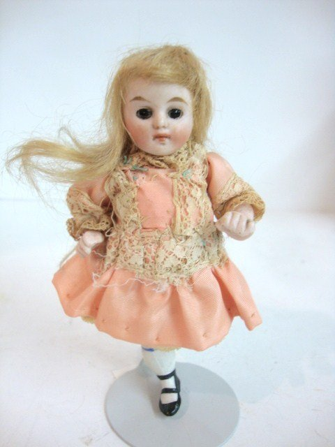 114: German All Bisque Doll