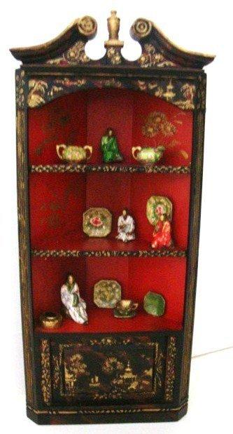 401: Linda Wexler Corner Cupboard