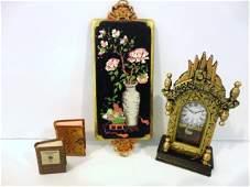 410: Barbara Raheb Book and Wexler Clock