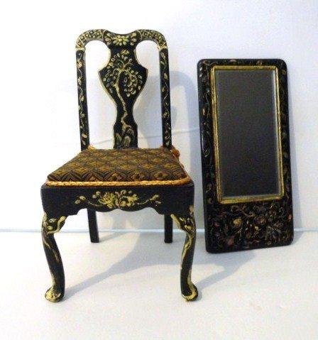 414: Linda Wexler Queen Anne Chair