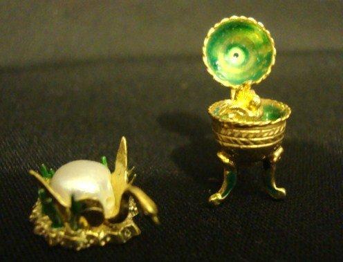424: Kupjack Faberge Enamels