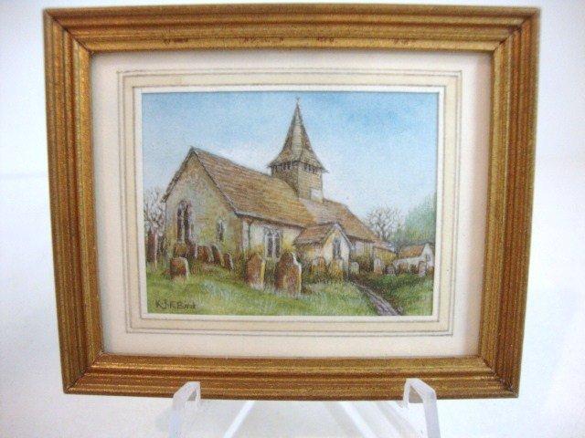 460: Ken Bird Watercolor