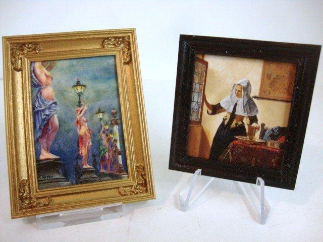 462: Leslie Smith Dutch Interior Painting