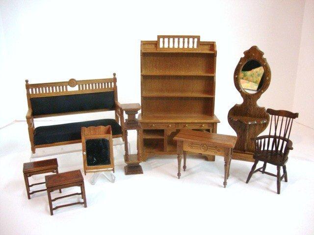 467: Miniature Mart Eastlake Furniture