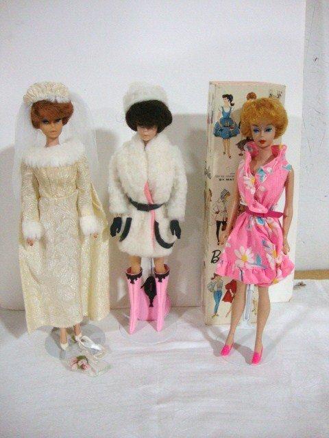 6: 3 Bubblecut Barbies