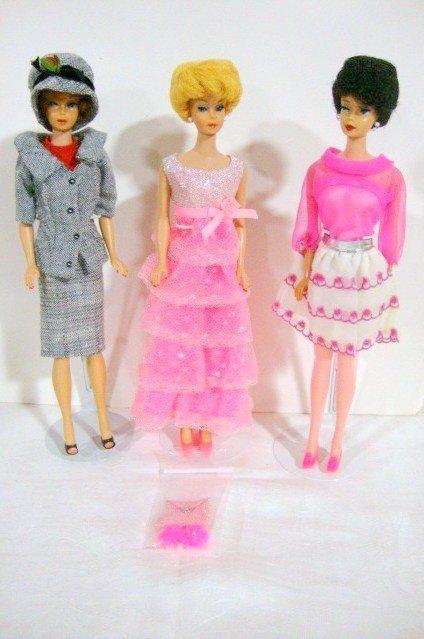 14: 3 Bubblecut Barbies