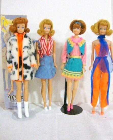 23: 4 Midge Dolls
