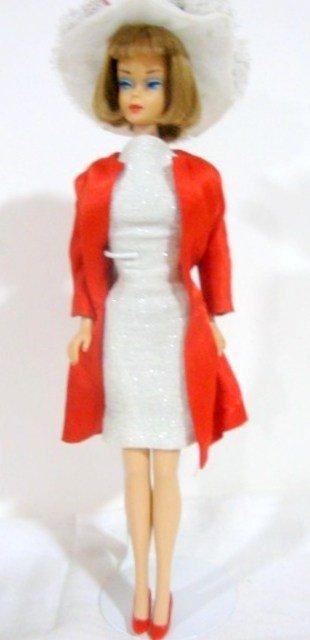 72: Long Hair Brunette American Girl Barbie