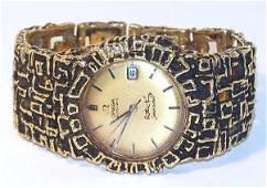 4: 18K Arthur King Omega Seamaster Automatic Watch