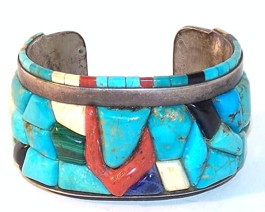 22: Early Hopi Mosaic Braclet