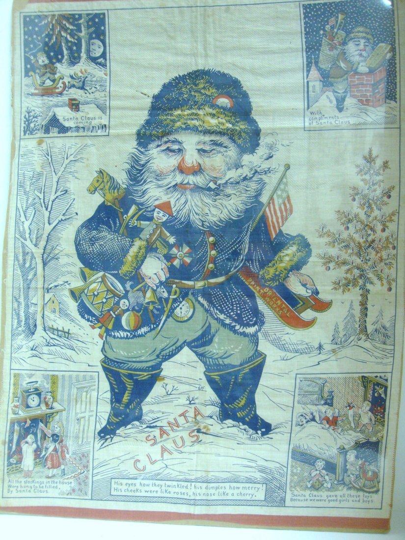 15: Vintage Santa Tapestry