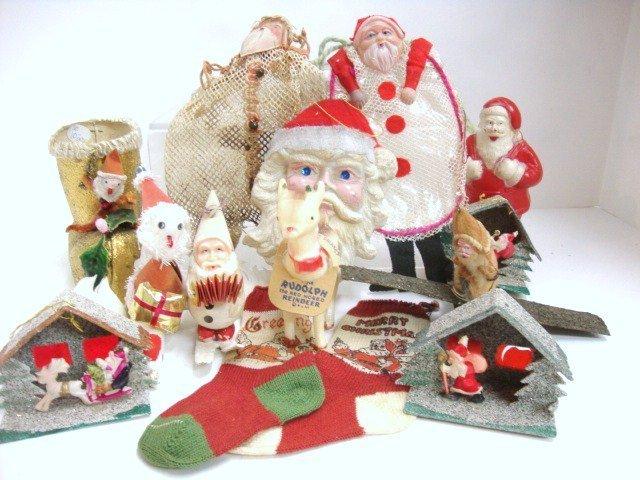 21: Grouping of Vintage Christmas