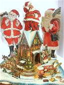 24 Four Paper Santas