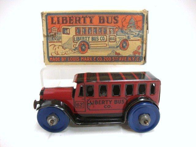 """168: Marx """"Liberty Bus Co"""" in O/B"""