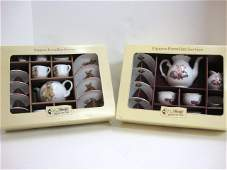 188: Steiff Dolls Tea Set OB