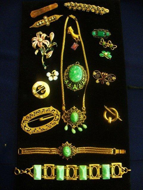 333: Vintage Costume Jewelry