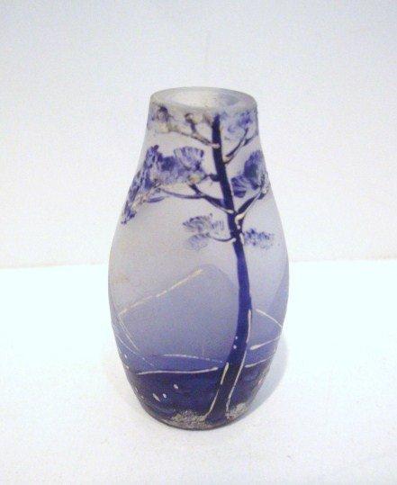 1: Miniature Art Glass Vase