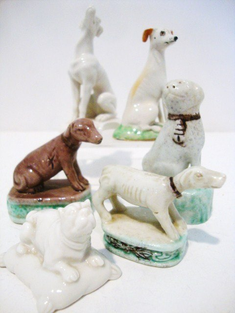 5: Miniature Staffordshire Dog Collection