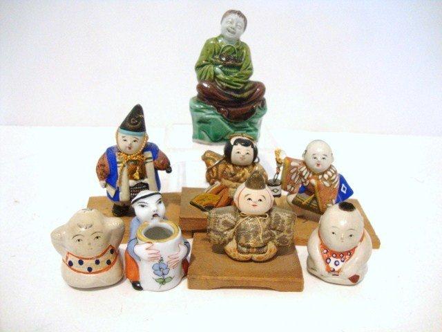 8: Miniature Oriental Figures