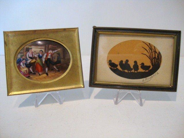 16: Vintage Miniature Pictures