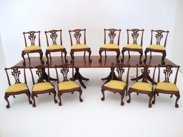 51: John Hodgson Chippendale Chairs