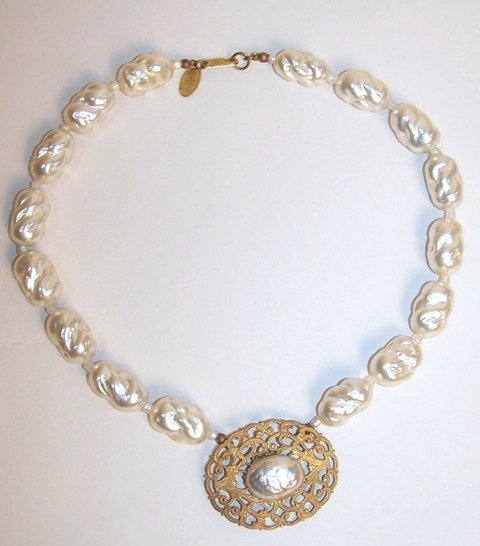 2: Miriam Haskell Necklace