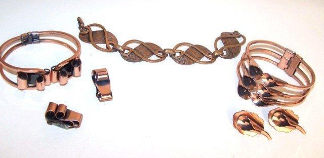 4: Copper Jewelry Lot