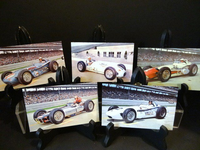 Vintage Indianapolis Roadster Postcards