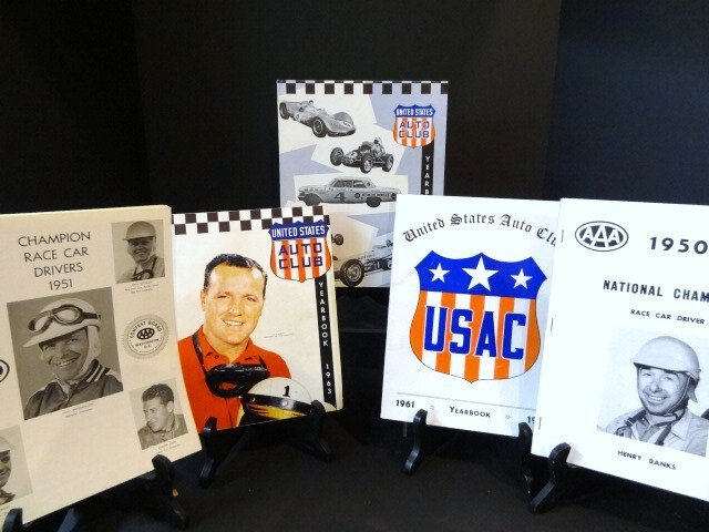 AAA and USAC Yearbooks